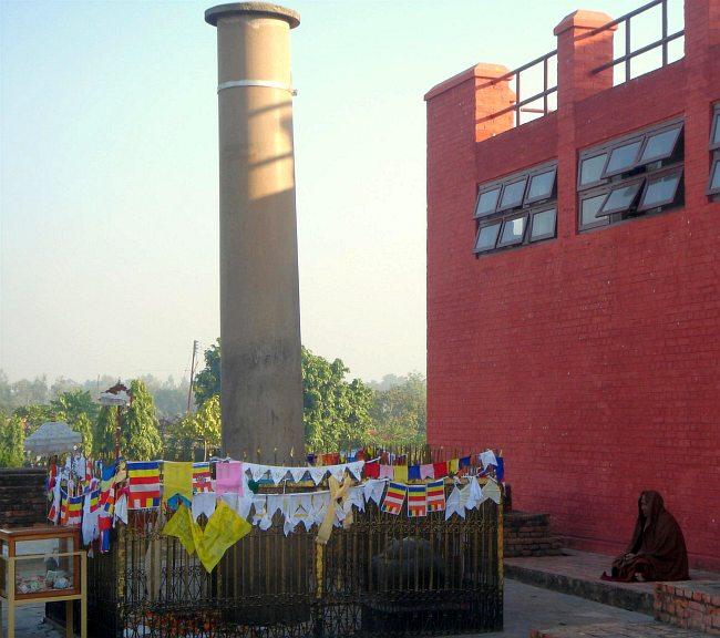 ルンビニーのアショーカ王石柱