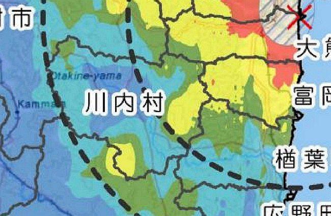 DOEと文科省合同で発表した汚染MAP
